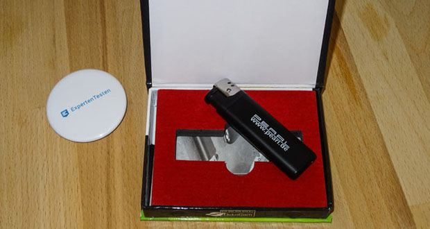 OctaCam Feuerzeug Kamera MC-720 im Test