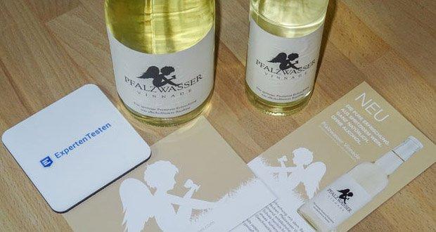 Pfalzwasser Vinnade Alkoholfrei - stilvolle prickelnde Premium-Erfrischung aus alkoholfreiem Wein