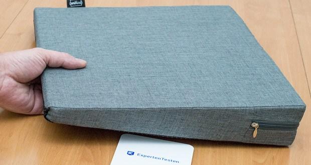 Das orthopädische Sitzkeilkissen von DYNMC im Test - Premium Qualität & geschütztes Design