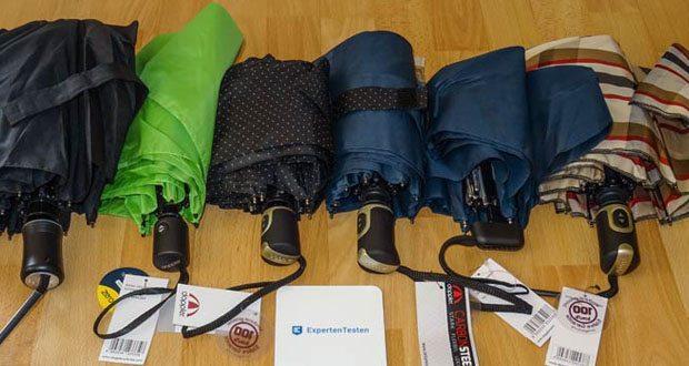 Doppler extra stabile Regenschirme Taschenschirme im Test