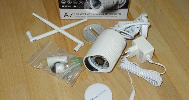 HiKam A7 WLAN IP-Überwachungskamera im Test