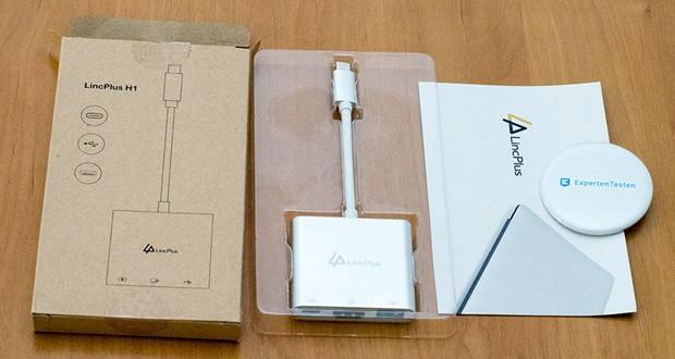 LincPlus USB-C Adapter im Test - Stromversorgung für USB-C-Netzteil für USB-C-Computer / -Telefon / -Tablet