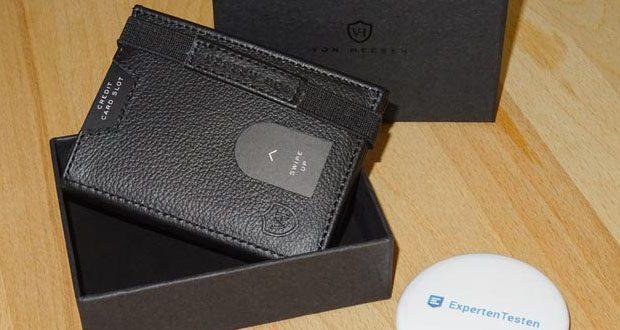 VON HEESEN Mini Geldbeutel im Test - Mini-Geldbörse mit cleverer Einteilung