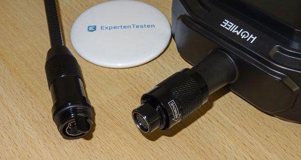 HOMIEE Hand LCD Endoskop Kamera kombiniert mit Inspektionskamera und eingebautem LCD-Monitor