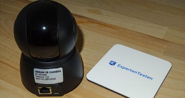 HiKam Q8 IP-Überwachungskamera mit Bewegungsdetektion und Personendetektion