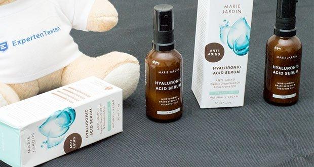 MARIE JARDIN Anti Aging Hyaluronic Acid Serum - sofort einziehender, intensiver Feuchtigkeitskick