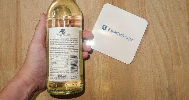 Pfalzwasser Vinnade Alkoholfrei - die spritzige Premium-Erfrischung aus alkoholfreiem Pfälzer Weißwein