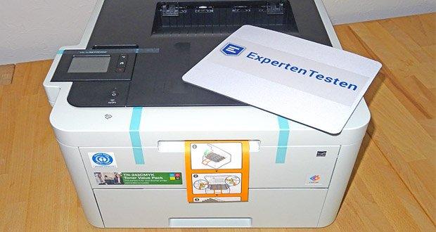 Brother HL-L3270CDW Farblaserdrucker mit max. Druckgeschwindkeit 24 Seiten/Min im Test