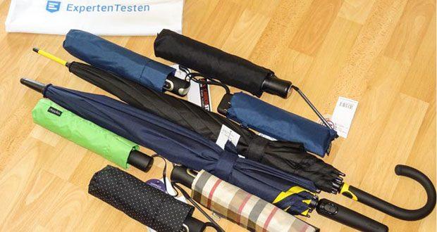 Doppler Regenschirme - durch die Verwendung von Fiberglas und Carbon werden diese Schirme sehr stabil und bleibt leicht und flexibel