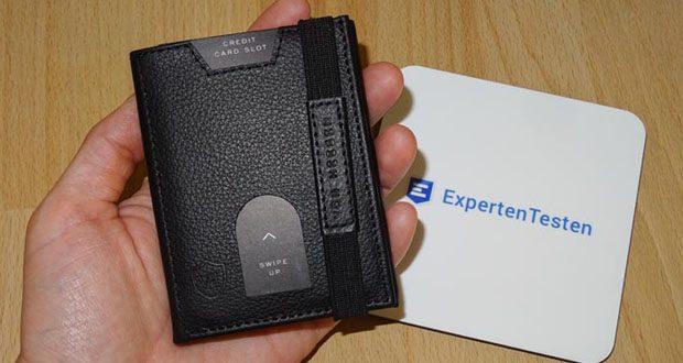 VON HEESEN Mini Geldbeutel im Test - überzeugt durch ein geringes Gewicht (50gr) und kompakte Abmessungen (9x7x1,5cm)