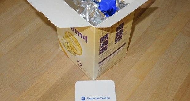 Natamil 2 Folgemilch im Test - mit DHA aus besonders reinem Microalgenöl