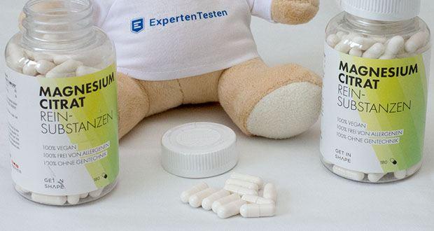 Get in shape Magnesium Citrat 180 Kapseln im Test