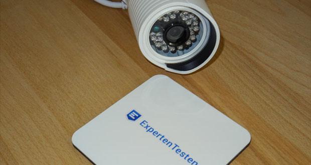 A7 IP-Überwachungskamera von HiKam - Ethernet-Anschluss & Externe 433MHz-Funk-Sensoren