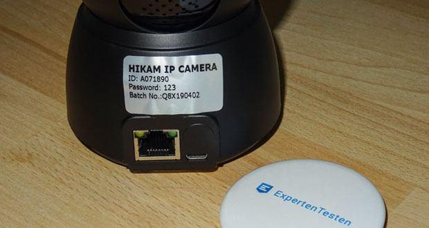 HiKam Q8 IP-Überwachungskamera mit Alarm-Push-Notifikation