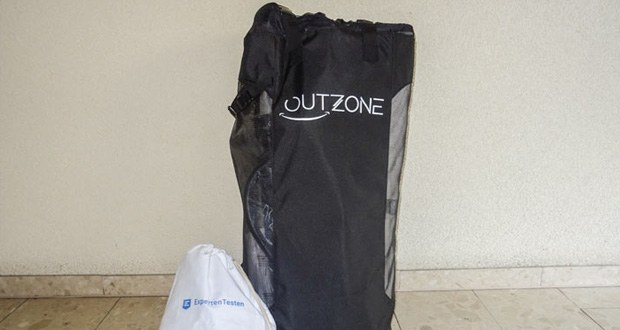iSUP von Outzone - Leichtes zusammenpacken nach Benutzung