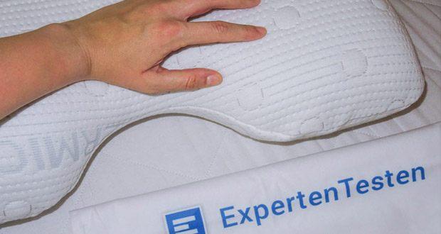 Third of Life Seitenschläferkissen ALOE VERA NuMOON im Test - Orthopädisches HWS Nackenkissen mit BAMBUS