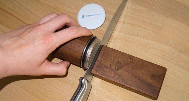 Horl-1993 Messerschärfer mit Magnet-Schleiflehre im Test