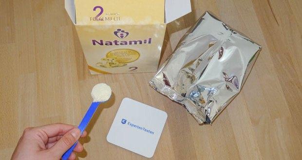 Natamil 2 Folgemilch im Test - speziell auf die Ernährungsbedürfnisse von Babys ab 6 Monaten abgestimmt