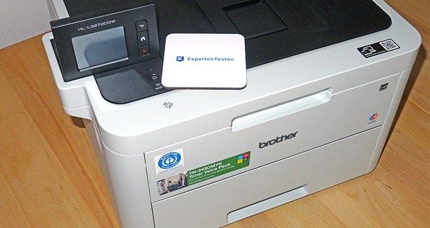 Brother HL-L3270CDW Farblaserdrucker im Test - mit 6,8 cm Touchscreen-Farbdisplay