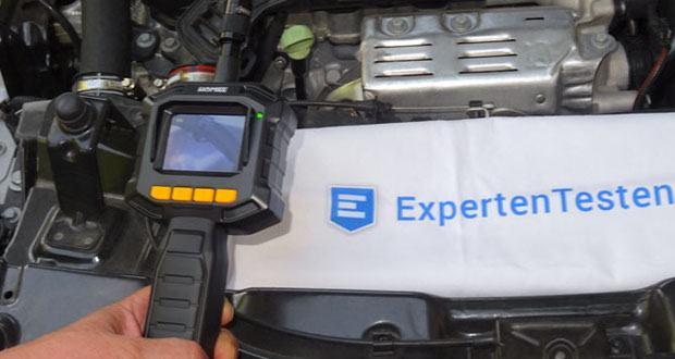 HOMIEE Hand LCD Endoskop Kamera ist ideal für die Überprüfung verstopfter Kanäle, HAVC-Systeme, Autos, Boote und Flugzeugmotoren, Maschinen usw.