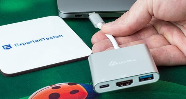 LincPlus USB-C Adapter im Test - mit Typ-C können Sie neue Geräte wie ein 12-Zoll-Macbook, ein neues <a href=