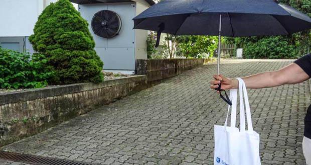 Knirps Regenschirme mit großem Schirmdach-Schutz für 2 Personen