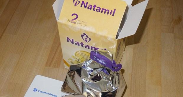 Natamil 2 Folgemilch enthält wichtige Bausteine der Muttermilch, wie Nucleotide, die Vitamine A, C und D und Galacto-Oligosaccharide (GOS)