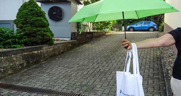 Regenschirm von Doppler - geeigent für Herren und Damen im Reisegepäck oder Auto