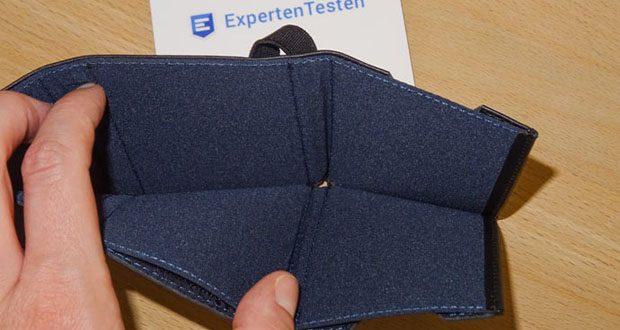VON HEESEN Mini Geldbeutel im Test - inkl. Scheinfach für Geldscheine bis 100 EUR