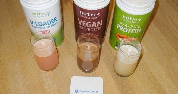 Nutri-Plus POST WORKOUT Shake V LOADER - glutenfrei und vegan (ohne Laktose und Milcheiweiß)