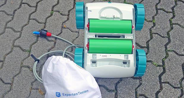 Poolroboter von POOL Total im Test - mit 2 Reinigungsprogramme, Dauer: 1 oder 2 Stunde(n)