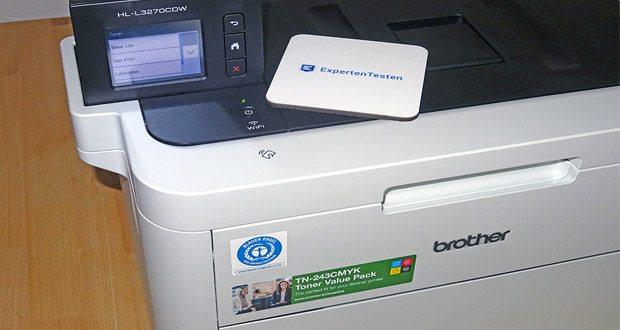 Brother HL-L3270CDW Farblaserdrucker im Test - auch von Mobilgeräten drucken, mittels Apple Airprint, Google Cloud Print oder Brother iPrint&Scan