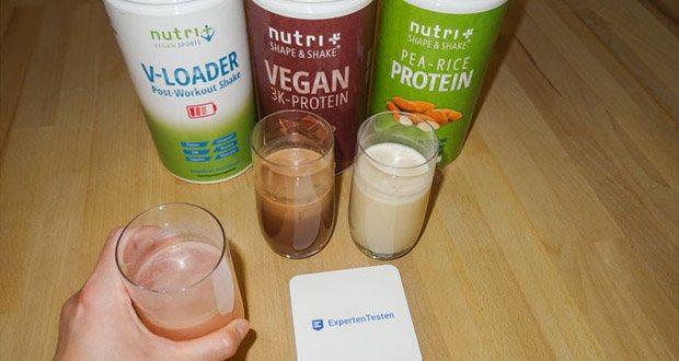 Nutri-Plus POST WORKOUT Shake V LOADER im Test - für einen normalen Energiestoffwechsel