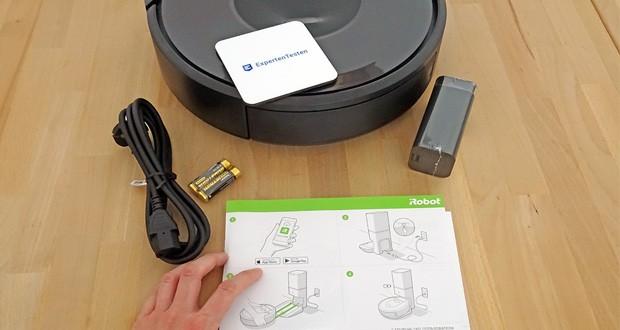 Saugroboter iRobot Roomba i7556 mit automatischer Absaugstation im Test