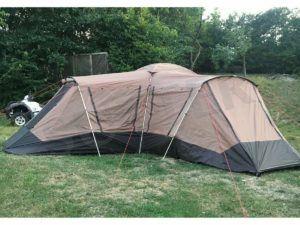 Welche Arten von Zelt gibt es in einem Testvergleich?