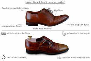 Eignungsprüfung im Schuhspanner Test und Vergleich