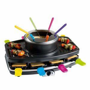 Alle Fragen aus einem Raclette Test und Vergleich
