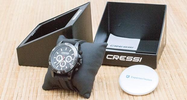 Die Nereus Chrono Uhr von Cressi wurde für das No-Limit Freitauchen entwickelt