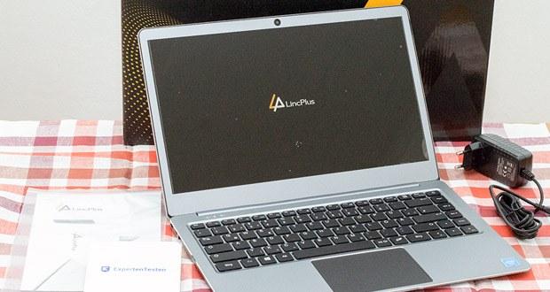 LincPlus P2 Laptop 14 Zoll im Test - das FHD IPS-Display mit einer Auflösung von 1920 x 1080 Pixeln bietet hochwertige und klare HD-Bilder