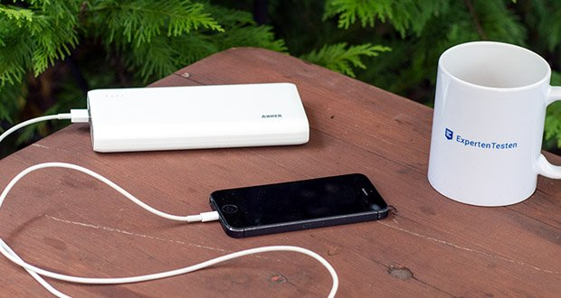 Anker PowerCore 26800mAh Power Bank im Test - mit Dual Input Ladeport
