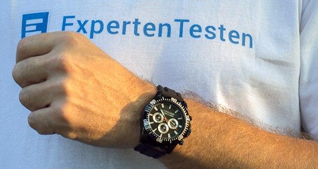 Professionelle Taucheruhren Nereus von Cressi im Test - Größe des Gehäusedurchmesser: 48 mm / Wasserdichtigkeit: 200 m