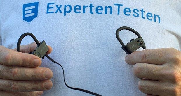 Bluetooth Kopfhörer U8I von LETSCOM im Test - der verbesserte Lithium-Polymer-Akku bringt Ihnen bis zu 8 Stunden Musikgenuss
