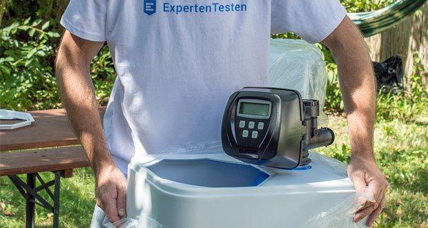 Die Wasserenthärtungsanlage CM-60 von Aqmos im Test - Das Harz besitzt eine Lebensdauer von über 20 Jahren