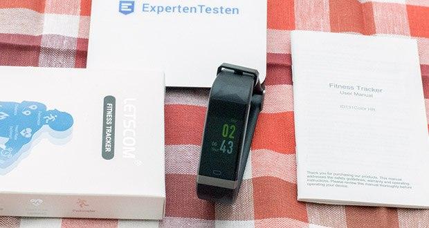 Letscom Fitness Uhr mit Pulsmesser im Test - Ladezeit: 1-2 Stunden, Arbeitszeit: 5-10 Tage