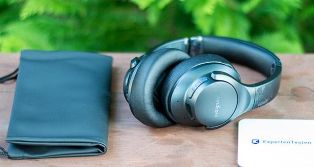 Soundcore Life Q20 Bluetooth Kopfhörer von Anker im Test - besitzt integrierte 40mm Treiber, die für ein extrem klares und präzises Klangprofil sorgen und gleichzeitig Störgeräusche und Lärm beseitigen
