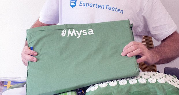 Authentische Akupressurmatte Thermo Mysa Duo von MYSA im Test - maximale Dichte und vollkommen gleichmäßige Akupressur