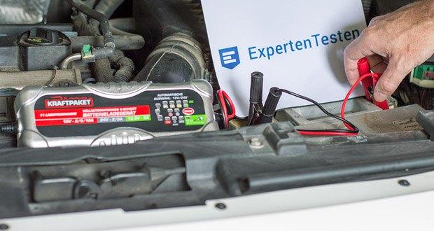 Dino KRAFTPAKET 10A-12V/24V Batterieladegerät im Test