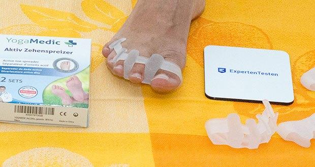 YogaMedic Zehenspreizer im Test - Soft-Gel Silikon für hohen Tragekomfort