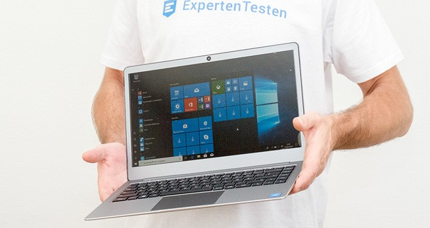 LincPlus P2 Laptop 14 Zoll im Test - Windows 10 und Microsoft Office-Testversion sind vorinstalliert
