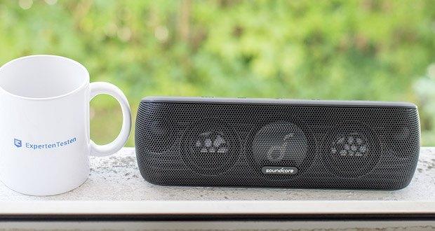 Soundcore Motion+ Bluetooth-Lautsprecher von Anker im Test - Mit seinem Frequenzbereich von 50 Hz bis 40 kHz schenkt dir Motion+ intensiven, raumfüllenden Sound